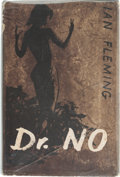 Books:Mystery & Detective Fiction, Ian Fleming. Dr. No. London: Jonathan Cape, [1958]. Thirdimpression. Signed by Fleming on the front free en...