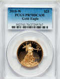 Modern Bullion Coins, 2010-W $25 Half-Ounce Gold Eagle PR70 Deep Cameo PCGS. PCGSPopulation (752). NGC Census: (0). Numismedia Wsl. Price for p...