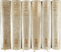 Books:Literature Pre-1900, Samuel Pepys. The Diary of Samuel Pepys... Edited with Additions by Henry B. Wheatley. London: George Bell & Son... (Total: 10 Items)