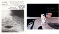 Autographs:Celebrities, Edgar Mitchell: Two Signed Apollo 14 Items.... (Total: 2 Items)