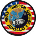 Explorers:Space Exploration, Apollo 1 Embroidered Mission Insignia Crew Patch by Stylized EmblemCo. Originally from the Personal Collection of Deke Slayto...