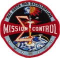 Explorers:Space Exploration, NASA Mission Control Vintage Embroidered Insignia Patch Originallyfrom the Collection of Gene Kranz's Secretary....