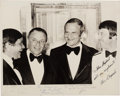 Autographs:Celebrities, Alan Shepard, Frank Sinatra, and Lee Iacocca Signed Photo. ...