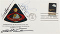 """Explorers:Space Exploration, Apollo 8 Crew-Signed Official First Day Cover for the """"Apollo 8"""" Stamp Directly from the Personal Collection of Astronaut Mich..."""