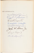 Autographs:Celebrities, Mercury Seven Astronauts: Martin Caidin's The Astronauts Book Signed by All. ...