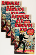 Silver Age (1956-1969):Western, Rawhide Kid #17 Group (Marvel, 1960) Condition: Average GD.... (Total: 4 Comic Books)