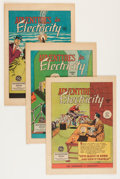 Golden Age (1938-1955):Miscellaneous, General Electric Promotional Comics Group (Various, 1950s) Condition: Average FN.... (Total: 17 Comic Books)