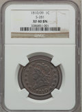 Large Cents, 1810/09 1C XF40 NGC. S-281, B-1, R.1....