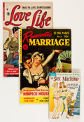 Golden Age (1938-1955):Romance, Miscellaneous Golden Age Romance Group (Various Publishers, 1950s)Condition: Average GD.... (Total: 10 Comic Books)