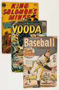 Golden Age (1938-1955):Miscellaneous, Comic Books - Assorted Golden Age Hero Comics Group (Various Publishers, 1950s) Condition: Average GD.... (Total: 15 Comic Books)