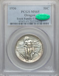 Commemorative Silver: , 1936 50C Oregon MS65 PCGS. CAC. PCGS Population (863/711). NGCCensus: (549/657). Mintage: 10,006. Numismedia Wsl. Price fo...