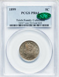 Proof Liberty Nickels: , 1899 5C PR64 PCGS. CAC. PCGS Population (170/226). NGC Census:(128/251). Mintage: 2,031. Numismedia Wsl. Price for problem...