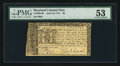 Colonial Notes:Maryland, Maryland April 10, 1774 $6 PMG About Uncirculated 53.. ...