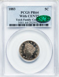 Proof Liberty Nickels: , 1883 5C With Cents PR64 PCGS. CAC. PCGS Population (295/224). NGCCensus: (204/262). Mintage: 6,783. Numismedia Wsl. Price ...