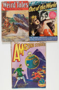 Pulps:Miscellaneous, Assorted Pulps Group (Miscellaneous Publishers, 1929-50) Condition: Average FR/GD.... (Total: 3 Items)