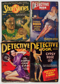 Pulps:Detective, Assorted Detective pulps Box Lot (Various Publishers, 1942-54)Condition: Average VG+.... (Total: 22 Comic Books)