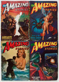Pulps:Science Fiction, Amazing Stories Box Lot (Ziff-Davis, 1946-48) Condition: AverageVG....