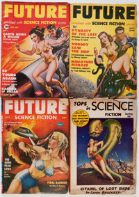 Assorted Science Fiction Pulps Group (Miscellaneous Publishers, 1924-52) Condition: Average VG.... (Total: 28 Items)