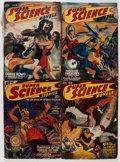 Pulps:Science Fiction, Super Science Stories and Others Box Lot (Popular, 1939-51)Condition: Average VG....