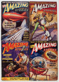 Pulps:Science Fiction, Amazing Stories Box Lot (Ziff-Davis, 1939-42) Condition: AverageVG....