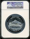 Modern Bullion Coins, 2010 25C Mount Hood Five Ounce Silver Gem Uncirculated NGC. NGCCensus: (205/758). PCGS Population (0/158). The image...