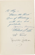 Books:Literature 1900-up, [Cast-Signed Book]. [Rosalind Russell, association]. JeromeLawrence and Robert E. Lee. Auntie Mame [a play]. Ba...