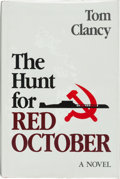 Books:Mystery & Detective Fiction, Tom Clancy. The Hunt for Red October. Annapolis: NavalInstitute Press, [1984]. First edition, first printing. Octav...