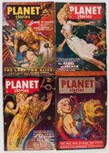 Pulps:Science Fiction, Planet Stories Box Lot (Fiction House, 1945-54) Condition: AverageVG....
