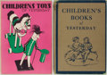 Books:Reference & Bibliography, [Collecting]. C. Geoffrey Holme [editor]. Group of Two BooksRelated to Collecting Children's Items. Studio Limited, 1932-19...(Total: 2 Items)