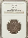 Bust Quarters: , 1825/4/3 25C AU55 NGC. NGC Census: (17/59). Mintage: 144,000.Numismedia Wsl. Price for problem free...