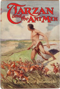 Books:Science Fiction & Fantasy, Edgar Rice Burroughs. Tarzan and the Ant Men. Chicago: A. C.McClurg, 1924. First edition of the tenth Tarzan book. ...