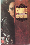 "Books:Horror & Supernatural, Stephen King. Carrie. Garden City, New York: Doubleday &Company, Inc., 1974. First edition (with code ""P6"" in t..."