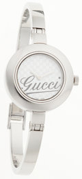 Luxury Accessories:Accessories, Gucci Stainless Steel 105 Wrist Watch. ...