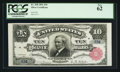 Large Size:Silver Certificates, Fr. 298 $10 1891 Serial Number Five Silver Certificate PCGS New 62.. ...