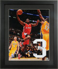 Basketball Collectibles:Photos, Chris Paul Signed Photograph and Numeral Display....