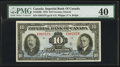 Canadian Currency: , Toronto, ON - Imperial Bank of Canada $10 Nov. 1, 1934 Ch. #375-22-06. ...
