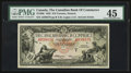 Canadian Currency: , Toronto, ON - The Canadian Bank of Commerce $10 Jan. 2, 1935 Ch. #75-18-08. ...