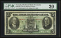 Canadian Currency: , Montreal, PQ - The Royal Bank of Canada $5 Jan. 3, 1933 Ch. #630-16-02. ...