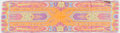 Luxury Accessories:Accessories, Etro Pink, Orange, and Purple Paisley Silk Scarf. ...