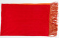Luxury Accessories:Accessories, Shanghai Tang Large Red and Orange Silk Shawl with Tassels. ...