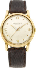Timepieces:Wristwatch, International Watch Co. Vintage Center Seconds Wristwatch. ...