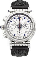 Timepieces:Wristwatch, Dubey & Schaldenbrand Spiral-Verso VIP No. 71 Chronograph With Triple Calendar & Moon Phase. ...
