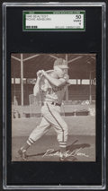 Baseball Cards:Singles (1940-1949), 1949 Sealtest Ice Cream Richie Ashburn Rookie SGC 50 VG/EX 4. ...