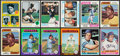 Baseball Cards:Lots, 1973 - 1977 Topps Baseball Stars & HoFers Collection (133). ...