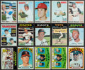 Baseball Cards:Lots, 1970 - 1972 Topps Baseball Stars & HoFers Collection (99). ...