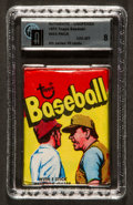 Baseball Cards:Singles (1970-Now), 1973 Topps Baseball Unopened Wax Pack 4th Series GAI NM-MT 8. ...