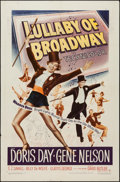 """Movie Posters:Musical, Lullaby of Broadway (Warner Brothers, 1951). One Sheet (27"""" X 41""""). Musical.. ..."""