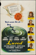 """Movie Posters:Mystery, Lured (United Artists, 1947). One Sheet (27"""" X 41""""). Mystery.. ..."""