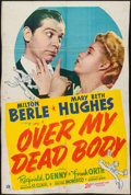 "Movie Posters:Comedy, Over My Dead Body (20th Century Fox, 1942). One Sheet (26.5"" X 40.25""). Comedy.. ..."