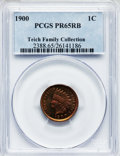 Proof Indian Cents: , 1900 1C PR65 Red and Brown PCGS. PCGS Population (50/13). NGCCensus: (42/27). Mintage: 2,262. Numismedia Wsl. Price for pr...